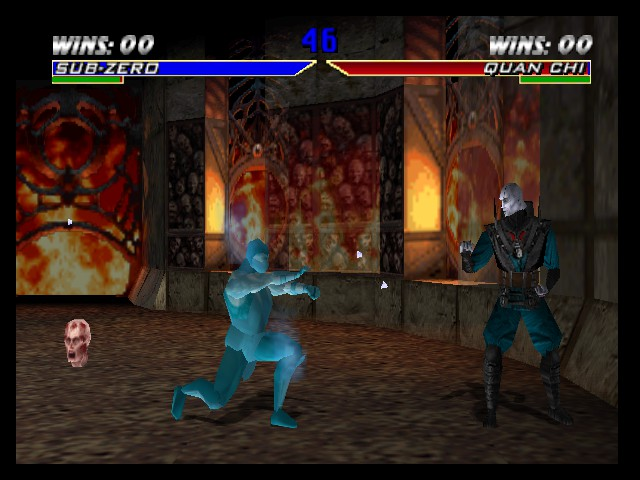 Mortal Kombat 4 - Double Ice Backfire - User Screenshot